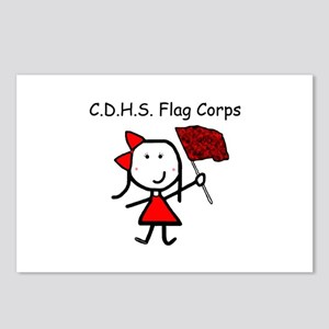 Guard - C.D.H.S. Flag Corps Postcards (Package of
