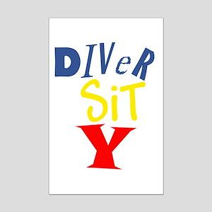 Diversity Mini Poster Print