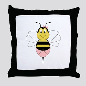 MayBee Bumble Bee Throw Pillow