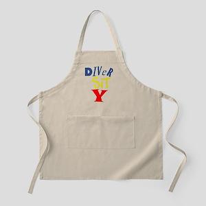 Diver Sit Y BBQ Apron