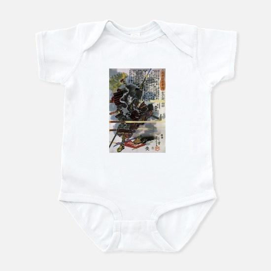 Japanese Samurai Warrior Narishige Infant Bodysuit
