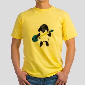 Sheep Yellow T-Shirt