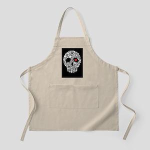 skullmylover BBQ Apron