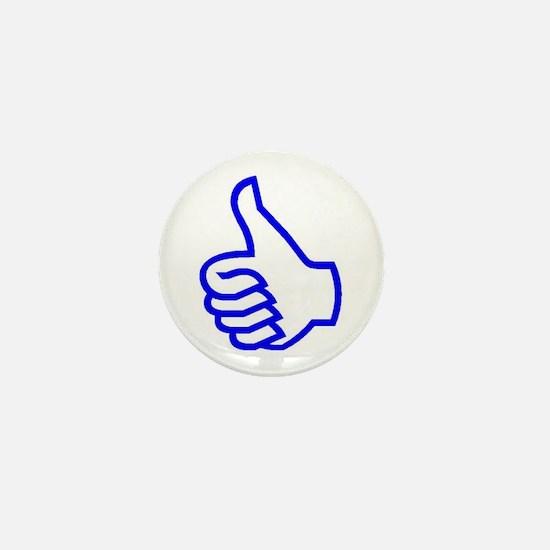 Thumb's Up Mini Button