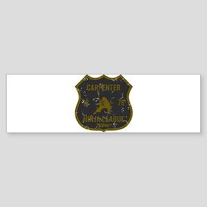 Carpenter Ninja League Bumper Sticker