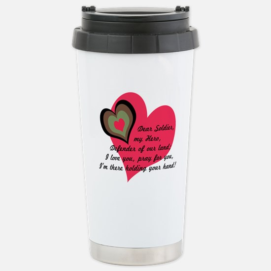 DEAR SOLDIER GIFTS Stainless Steel Travel Mug
