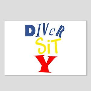Diver Sit Y Postcards (Package of 8)
