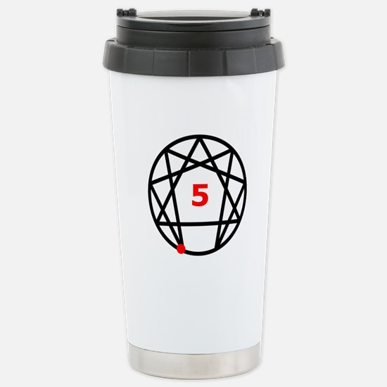 Enneagram Type 5 Stainless Steel Travel Mug