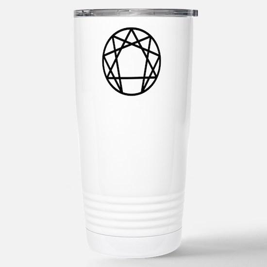 Enneagram Symbol Stainless Steel Travel Mug