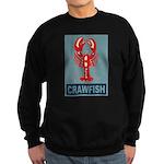 Crawfish In Red and Blue Sweatshirt (dark)