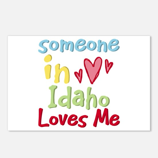 Someone in Idaho Loves Me Postcards (Package of 8)