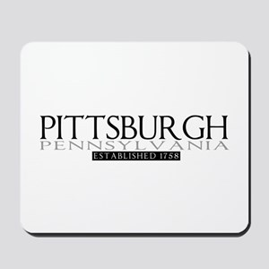 Pittsburgh Pennsylvania Mousepad