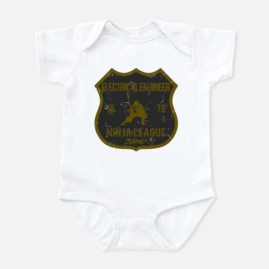 Electrical Engineer Ninja League Infant Bodysuit