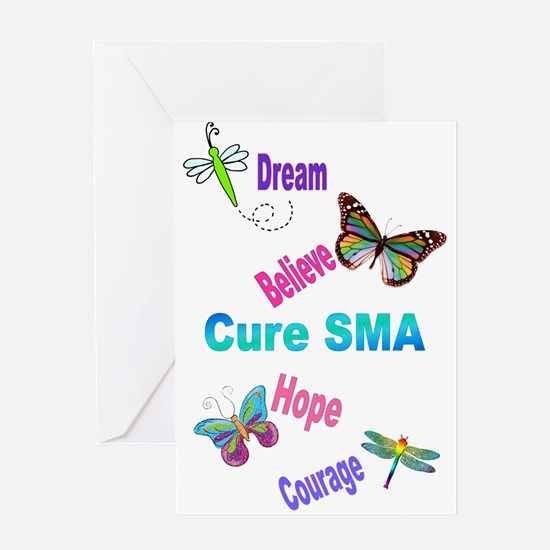 Cure SMA Greeting Card