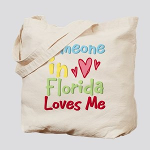 Someone in Florida Loves Me Tote Bag