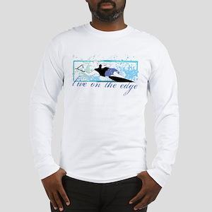 Live on the edge Slalom Long Sleeve T-Shirt