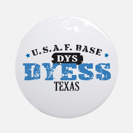 Dyess Air Force Base Ornament (Round)