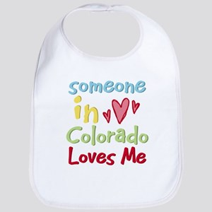 Someone in Colorado Loves Me Bib