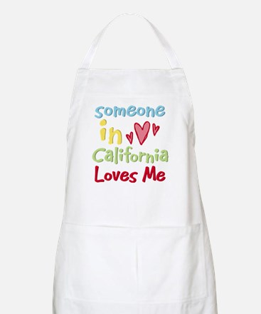 Someone in California Loves Me BBQ Apron