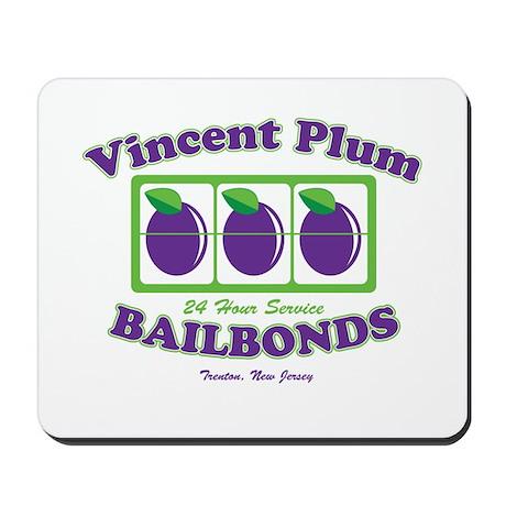 Vincent Plum Bail Bonds Mousepad