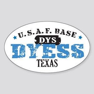 Dyess Air Force Base Oval Sticker