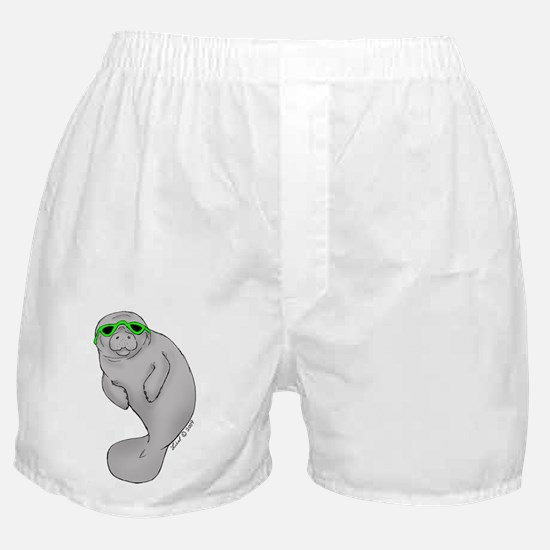 Cool Manatee Boxer Shorts