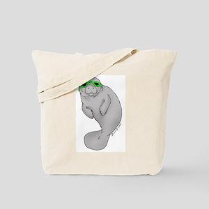 Cool Manatee Tote Bag