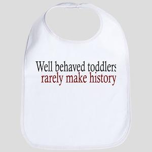 Toddlers Make History Bib
