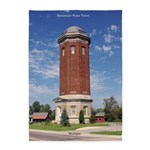 Manistique Water Tower 5'x7'area Rug