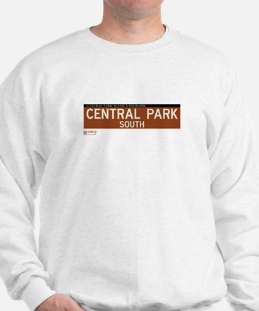 Central Park South in NY Sweatshirt