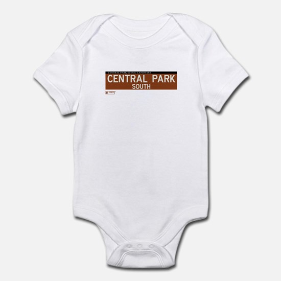 Central Park South in NY Infant Bodysuit