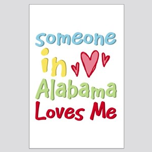 Someone in Alabama Loves Me Large Poster