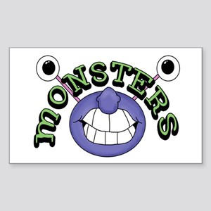 Monsters Rectangle Sticker