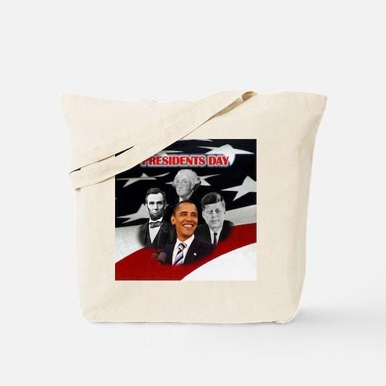Presidents Day Tote Bag