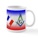 Masonic French Mug