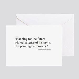 PLANNING WITHOUT HISTORY... Greeting Cards (Packag