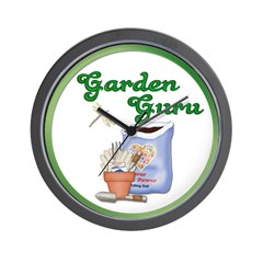 Garden Guru Wall Clock