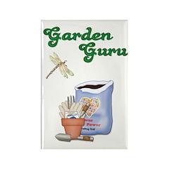 Garden Guru Rectangle Magnet