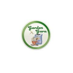 Garden Guru Mini Button (10 pack)