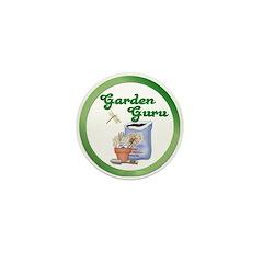 Garden Guru Mini Button