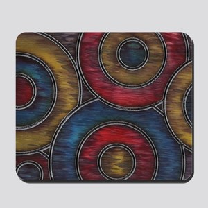 Color Circles Mousepad