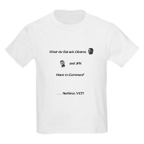 Nothing YET! Kids Light T-Shirt