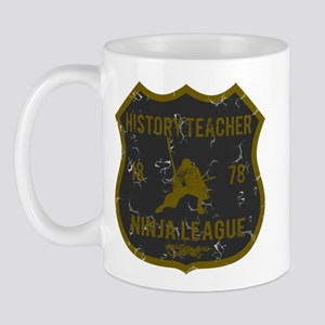 History Teacher Ninja League Mug