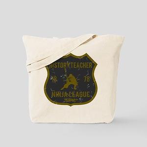 History Teacher Ninja League Tote Bag