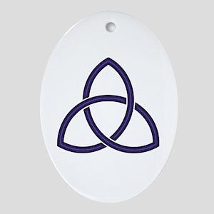 Triquetra Oval Ornament