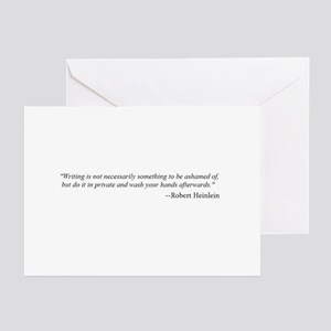 WRITING IS NOT... Greeting Cards (Pk of 10)