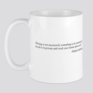 WRITING IS NOT... Mug