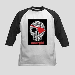 skullpirate02 Kids Baseball Jersey