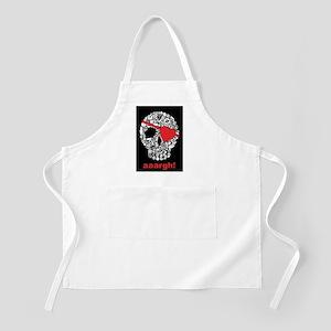 skullpirate02 BBQ Apron
