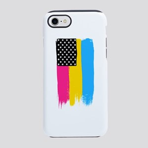 Pansexual Pride Stars and St iPhone 8/7 Tough Case
